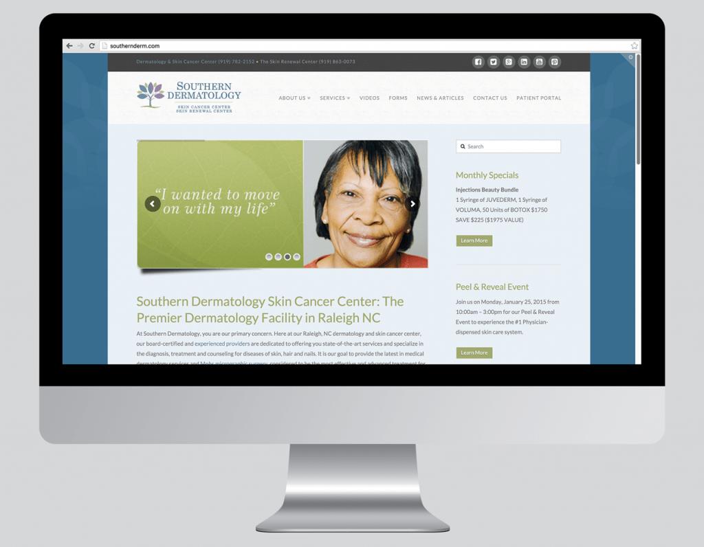 Southern Dermatology Website Home