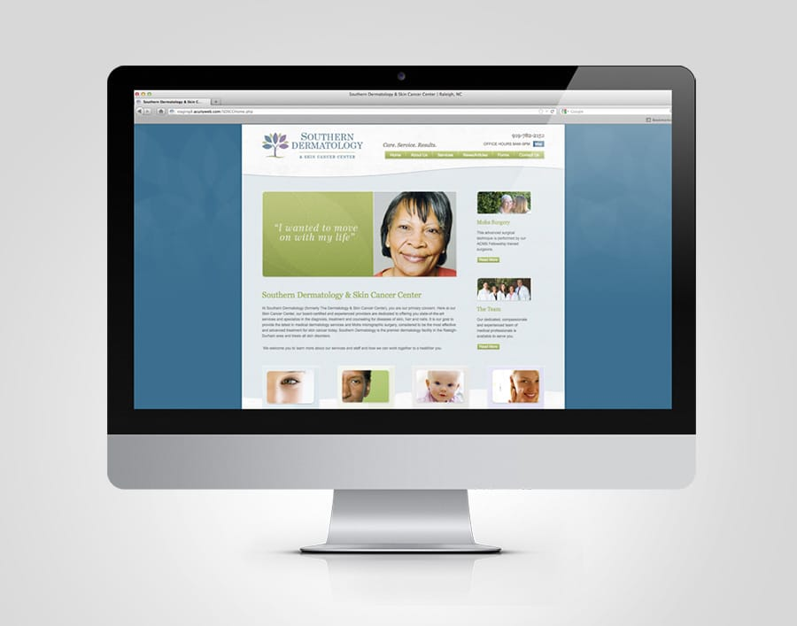 Southern Dermatology Web Design