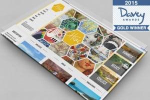 Gold Davey Award Winning ArtHive Online website design