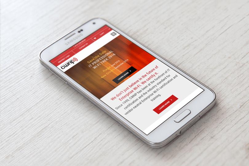 CWNP Mobile Website