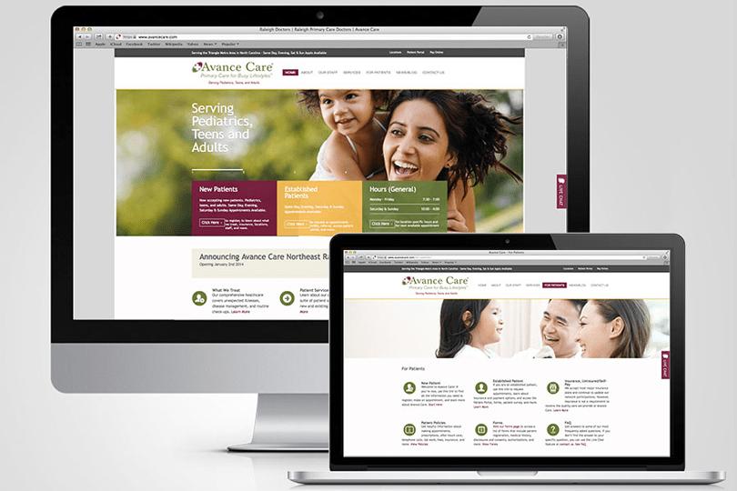 Avance Care Website