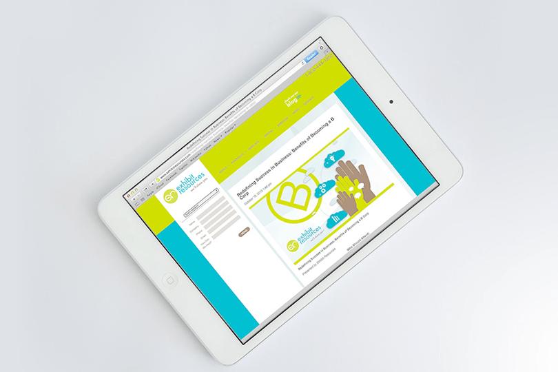 Exhibit Resources - web design