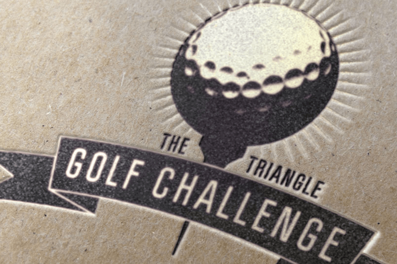Triangle Golf Challenge Logo