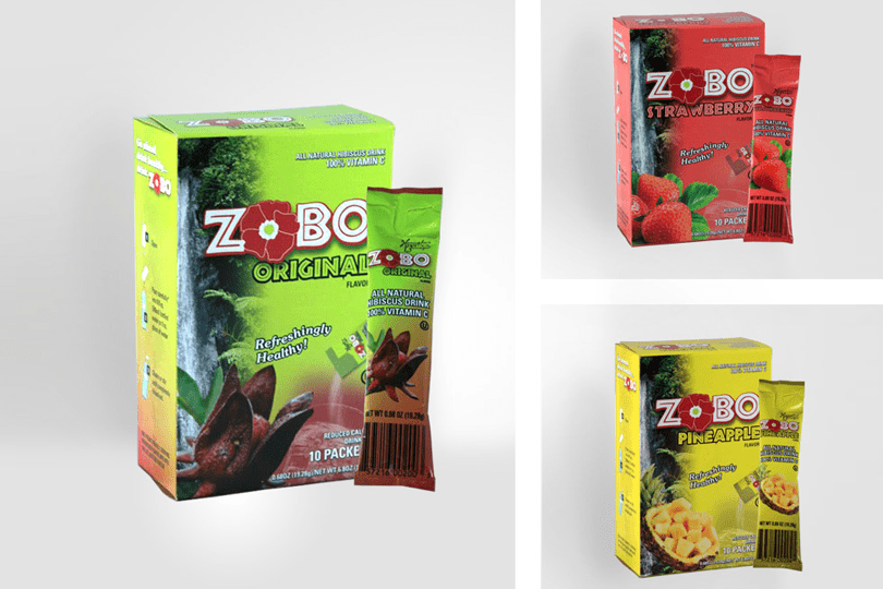 ZOBO Packaging Design