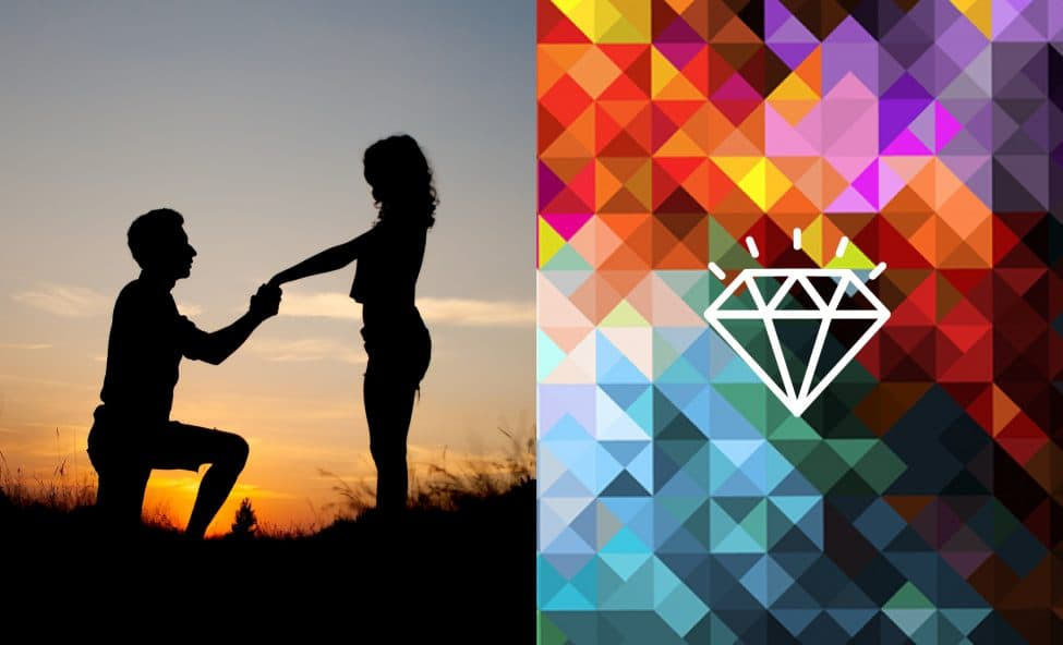 Brand Promise - Photo of Marriage Proposal - Hummingbird Creative Group