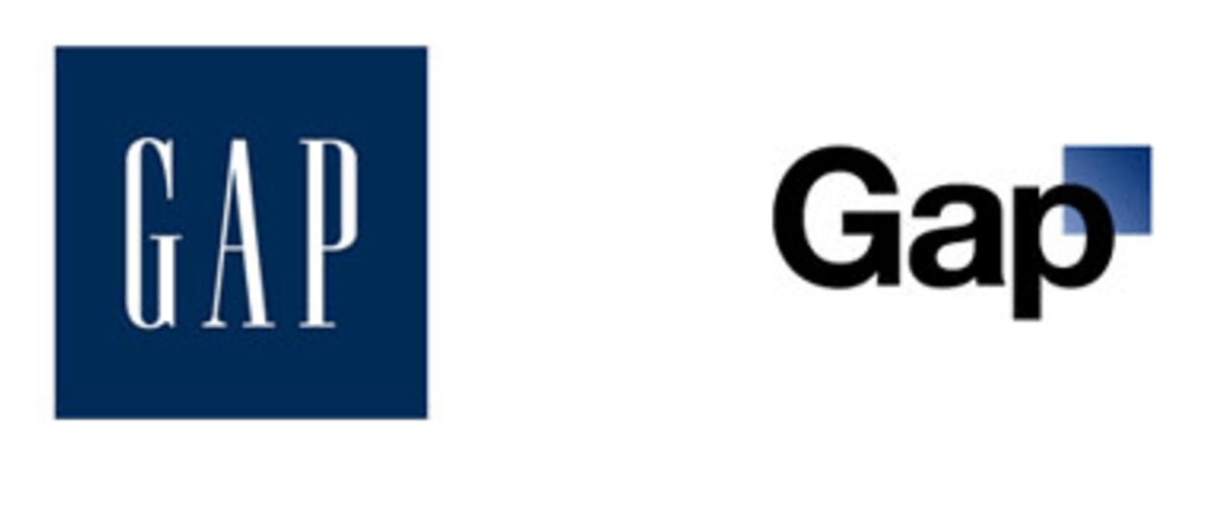 Gap brand mistake