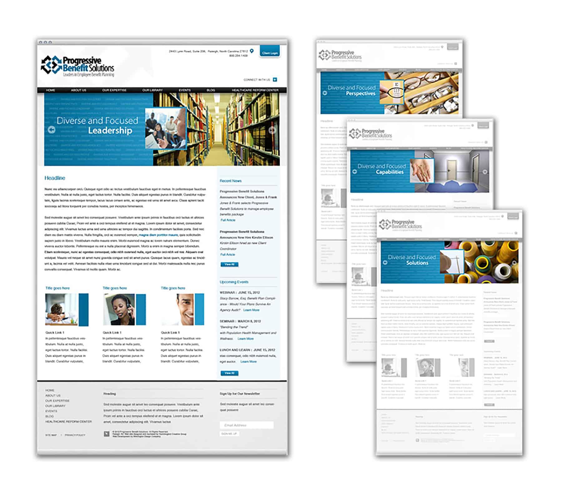 Progressive Benefit Solutions Website