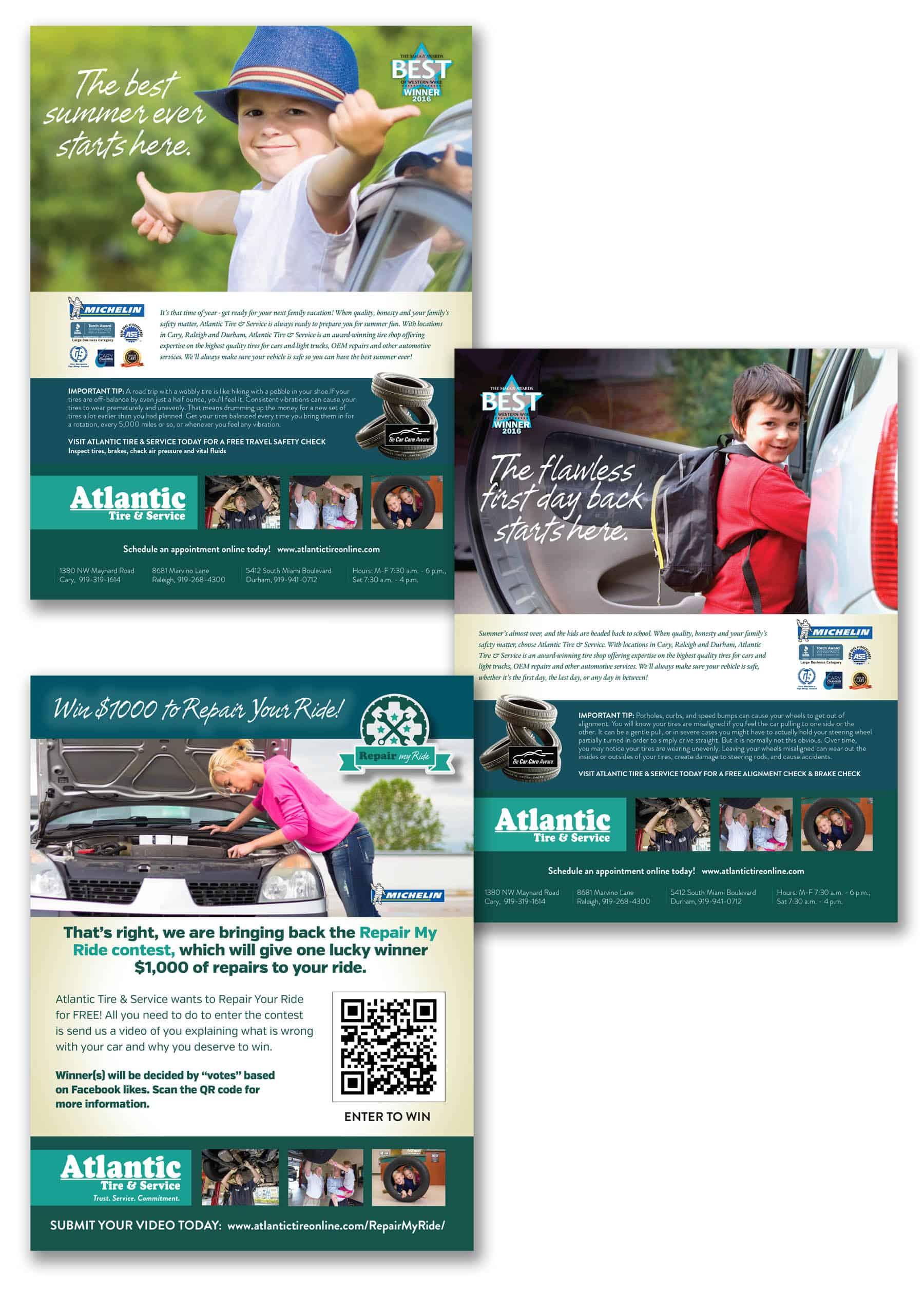 Atlantic Tire & Services Ad Campaign
