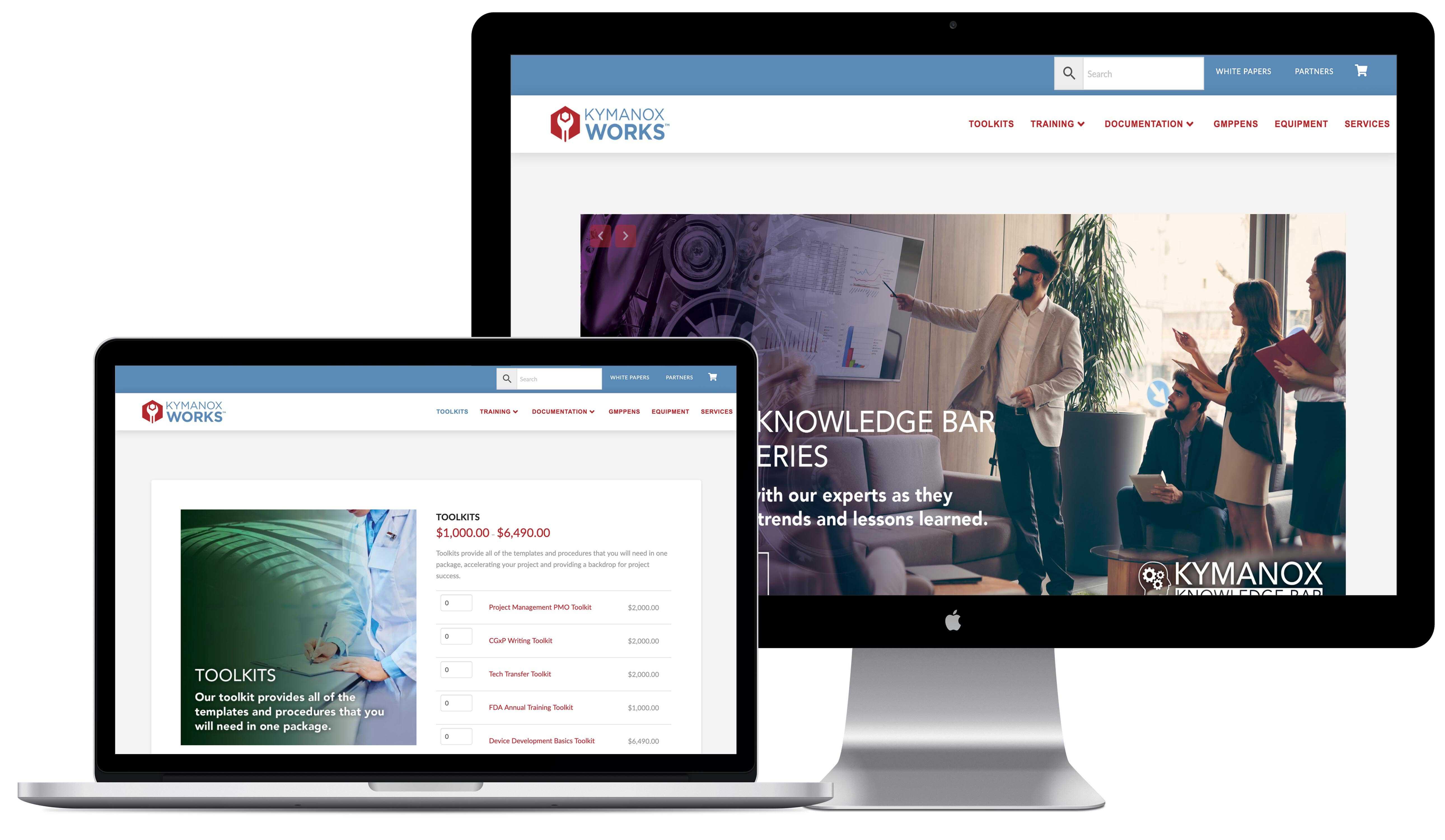 Kymanox Works Website