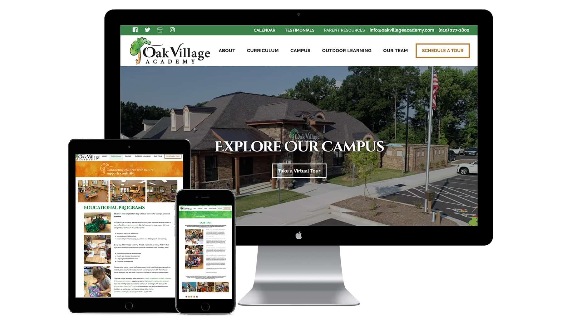 Oak Village Website