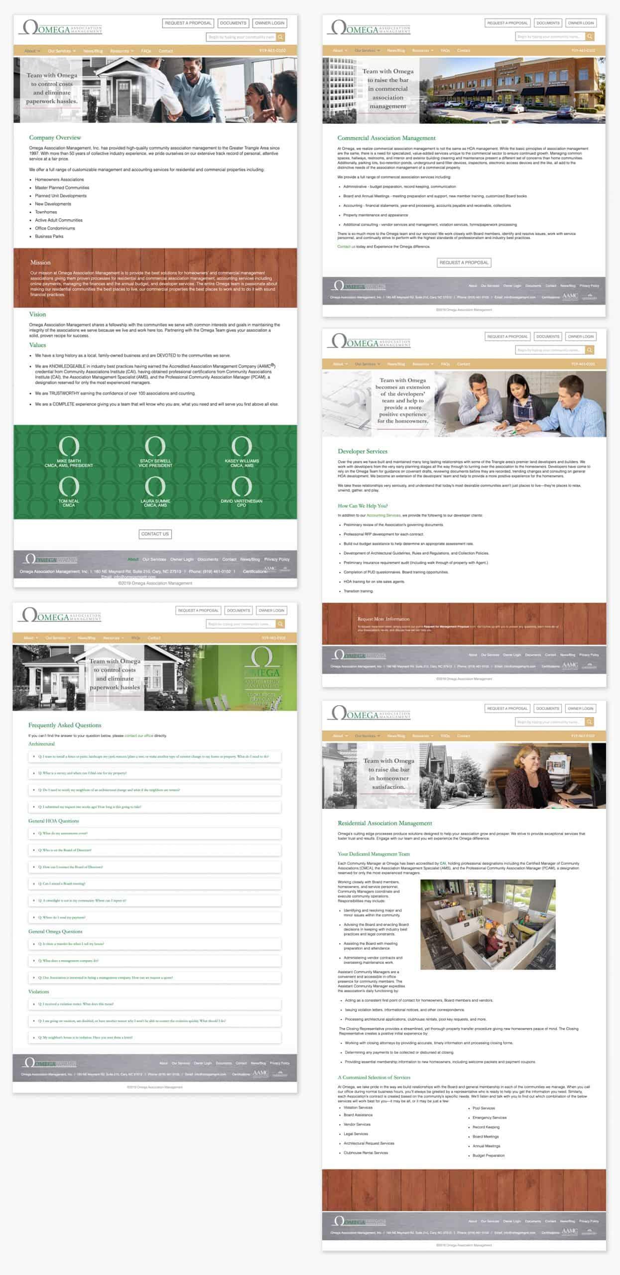 Omega Association Website