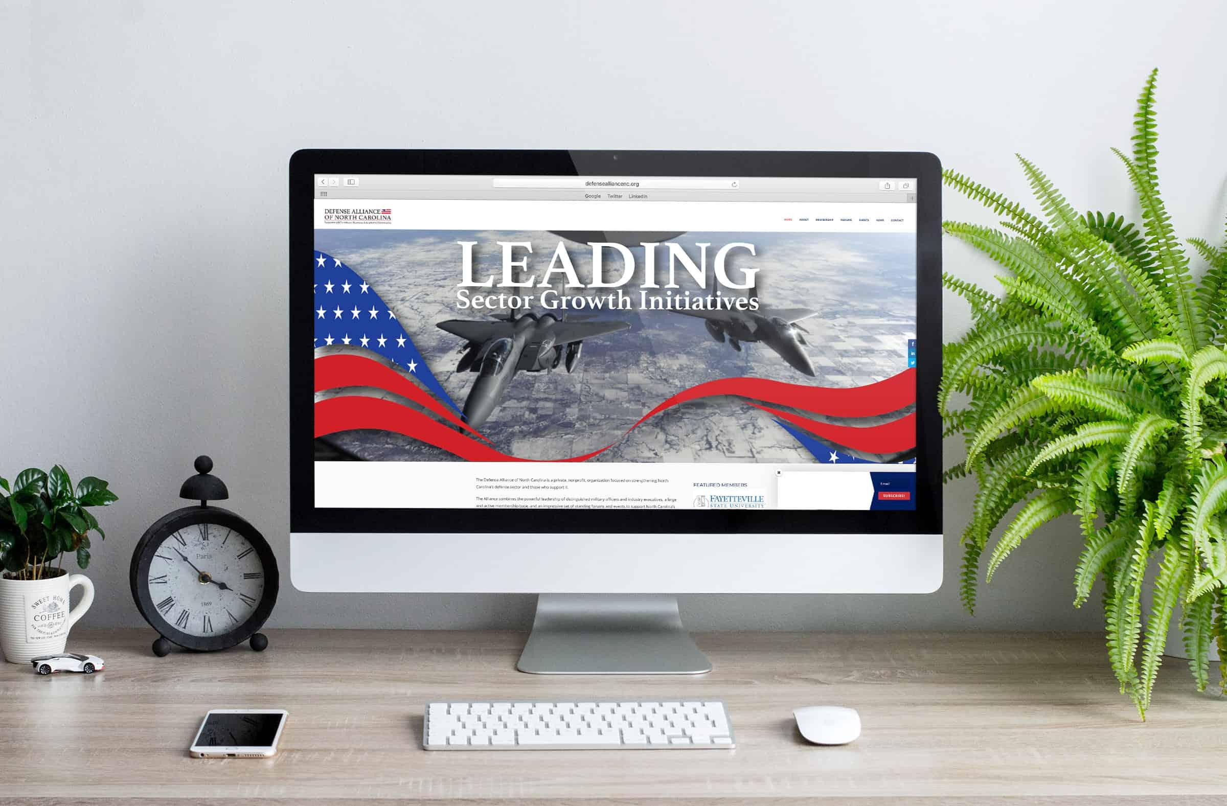 Defense Alliance of North Carolina Website