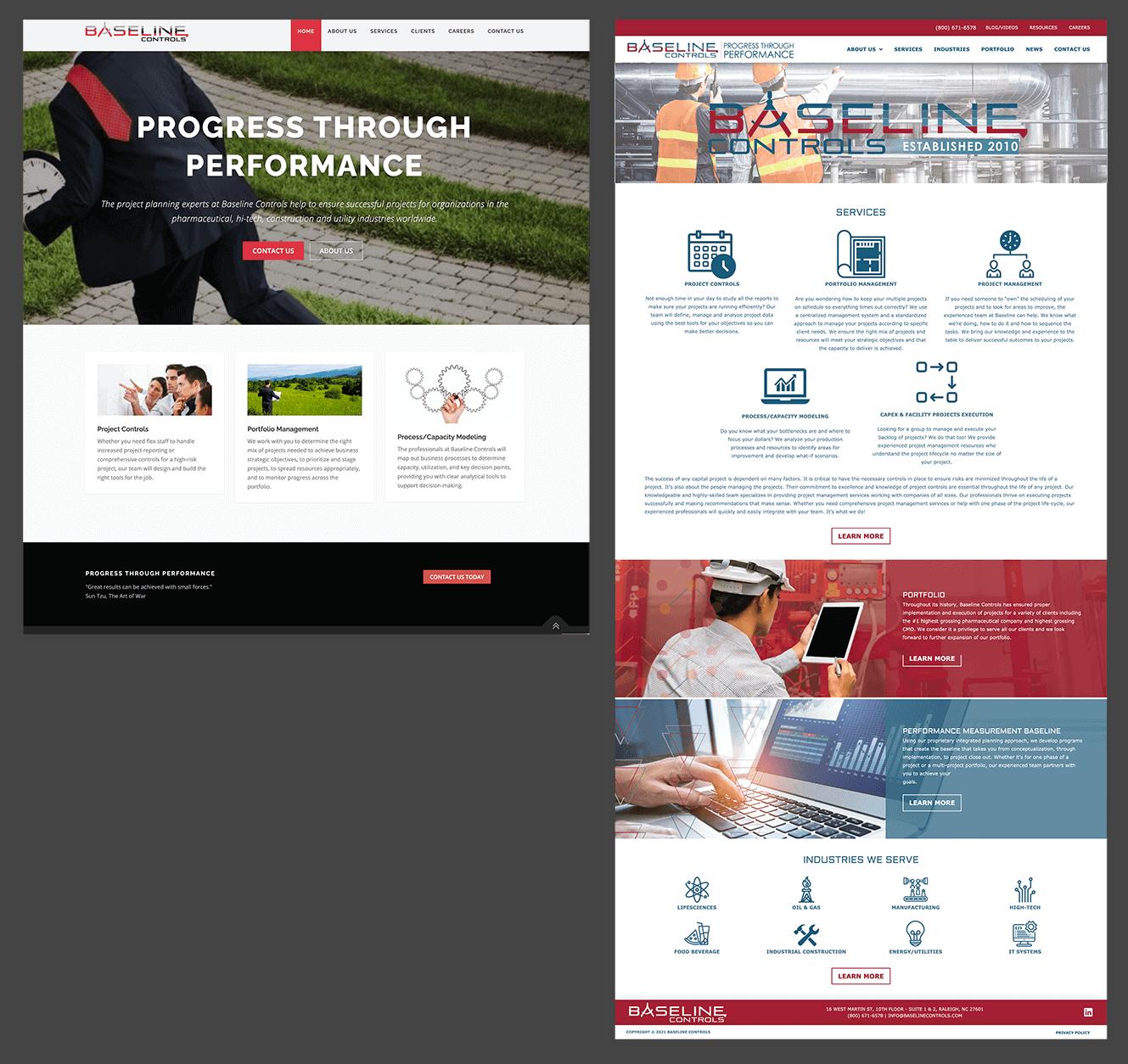 Baseline Controls Website